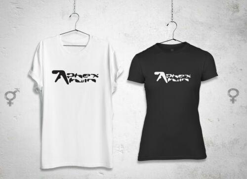 Like APHEX TWIN TEXT NEW t-shirt Syro Drukqs Rushup MALE FEMALE FREE SHIPPING