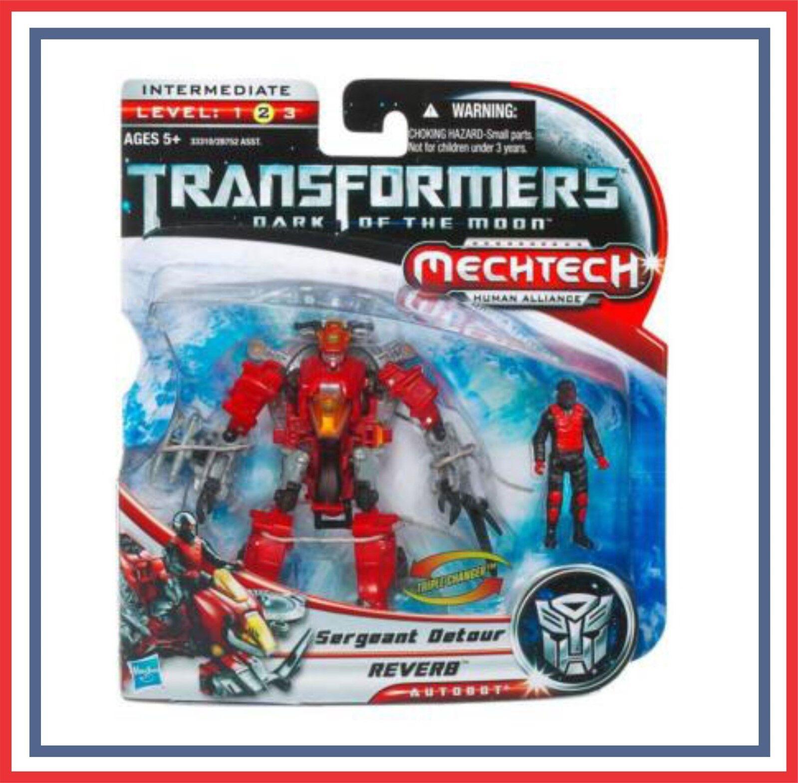 Transformers _ DOTM _ Human Alliance _  Reverb w  Sergeant Detour _ (MOC)
