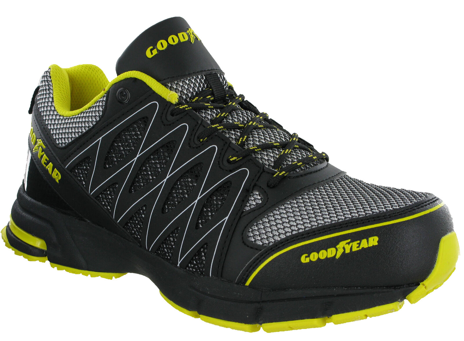 Goodyear Safety Trainers Composite Toe S1P Lightweight Metal Free Lace hommes 1502
