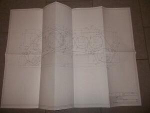 focke wulf fw190 zeichnung din a1 ma stab 1 1 mit ma e. Black Bedroom Furniture Sets. Home Design Ideas