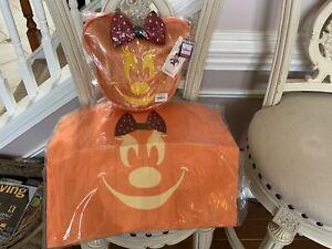 Harveys Seatbelt Disney Pumpkin Minnie Mouse  Bag Halloween  New