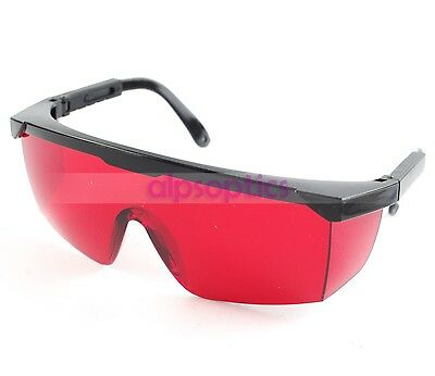 1p Laser Eyewear Protection Goggles Safety Glasses 532nm Green 405nm Violet/Blue