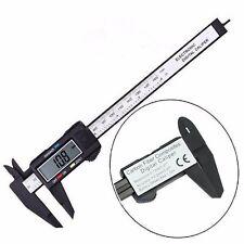 "6""150mm Carbon Fiber Electronic Digital Vernier Caliper Micrometer Gauge"