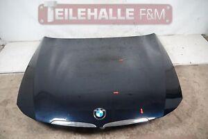 BMW E91 E90 3er Vorfacelift Motorhaube Frontklappe Frontdeckel Monacoblau A35