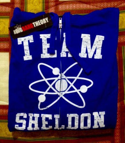 Team Sheldon Felpa Tg Big Theory Nuova Xxl Bang wqqSRvA