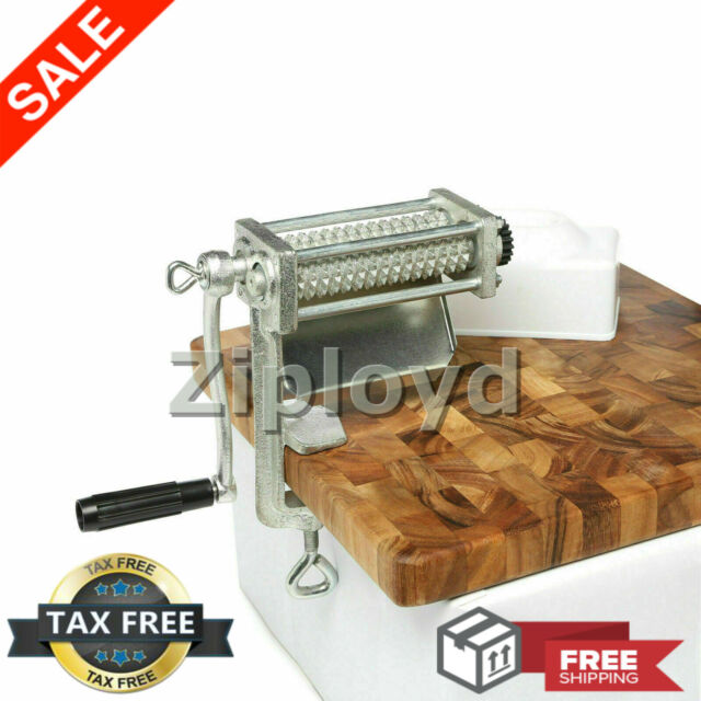 Meat Tenderizer Cuber HEAVY DUTY Steak Machine Flatten Cast Iron Kitchen Tool
