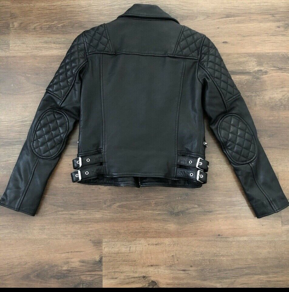 ALL SAINTS Quilted Leather Jacket - image 2