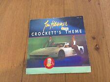 "Jan Hammer 'Crockett's theme' 7"" single"
