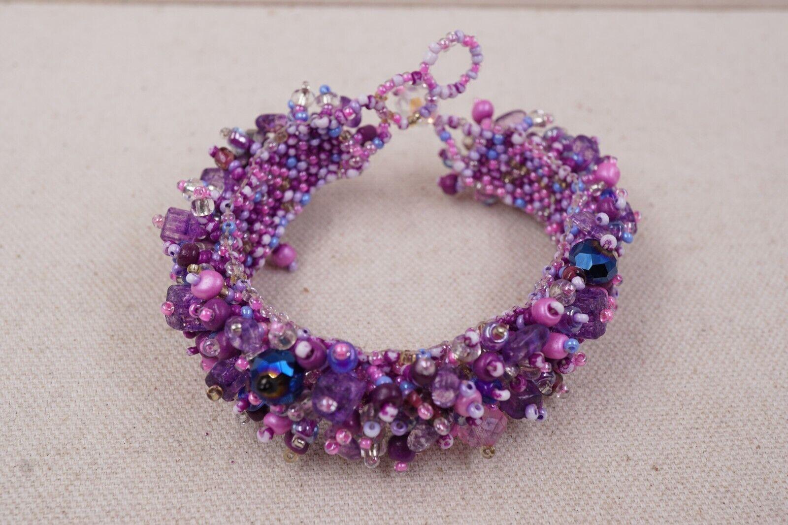 Purple Multi-Color Denture Dangles