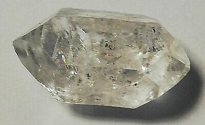 Herkimer Quarz: Rohstein Ca. 20x10x10mm- Durchscheinend-farblos-klar Ca.14,42ct Erfrischung
