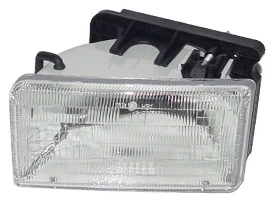 New Replacement Headlight Assembly Lh    For 1991