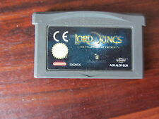 LORDS OF THE RINGS  THE FELLOWSHIP OF THE RINGS    -----   pour GAME BOY ADVANCE