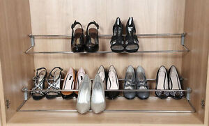 wardrobe shoe rack telescopic bedroom storage available in 3 rh ebay co uk Storage Wall Cabinets for Bedrooms Bedroom Storage Units