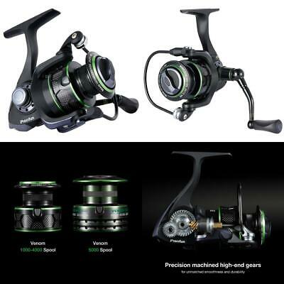 Piscifun Spinning Reel Lightweight Smooth Fishing 10+1BB Carbon Fiber Drag...