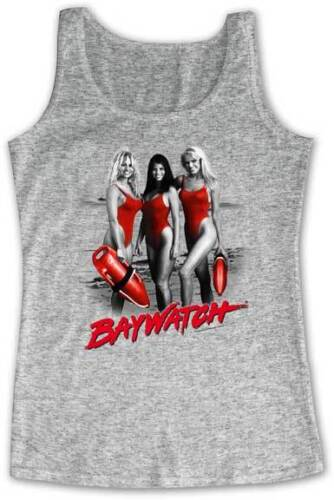 1990/'s Baywatch TV Show The Beautiful Baywatch Girls In Red Adult Tank Top