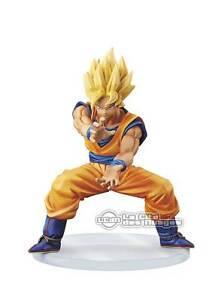 DRAGONBALL-Z-Dramatic-Showcase-1st-season-V2-SS-Goku-Kamehameha-Figure-BANPRESTO