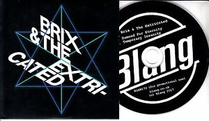 BRIX-amp-THE-EXTRICATED-Damned-For-Eternity-2017-UK-2-trk-promo-test-CD