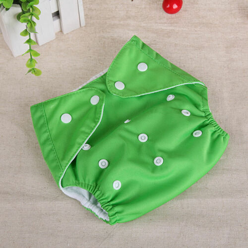 Cover Washable Baby Infant Adjustable Cloth Nappy Soft Cotton Diaper