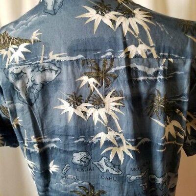 Tropical Aloha Island Palm Trees Hawaiian Shirt