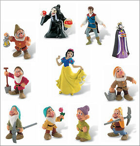 Brand New Disney Snow White and the Seven Dwarfs Figures by Bullyland