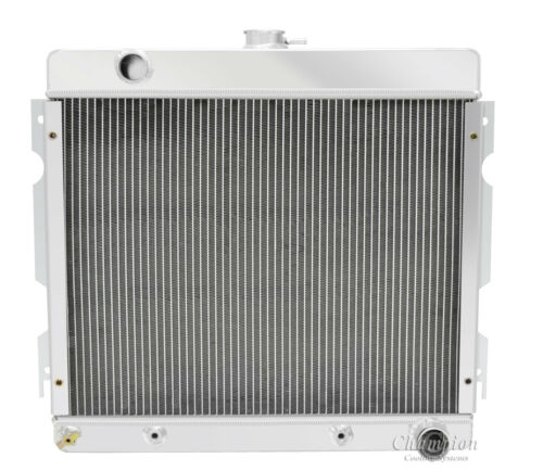 1971-1972 Plymouth Valiant Small Block V8 Aluminum 4 Row Champion Radiator