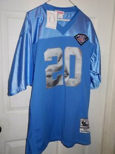 finest selection b8b22 c9029 detroit lions barry sanders throwback jersey