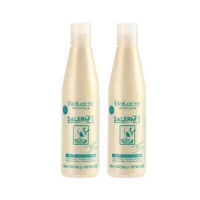 SALERM 21 B5 SILK PROTEIN LEAVE IN CONDITIONER of 8.6oz / 250 ml / (2 Pack)
