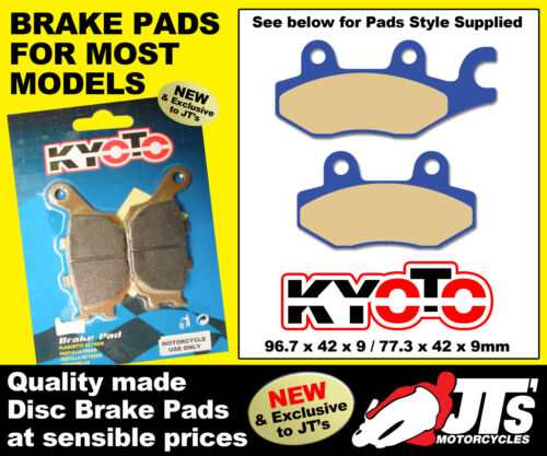 REPLICA REAR DISC BRAKE PADS KYMCO People 250 03-06