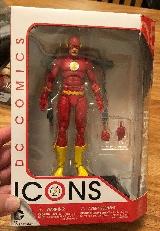 Dc - icons 6 inch action - figur der serie 1 - flash   05