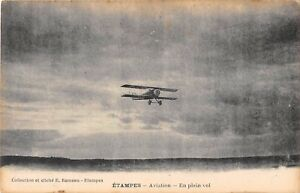 CPA-91-ETAMPES-AVIATION-EN-PLEIN-VOL
