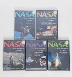 NASA-25-Years-History-Documentary-DVD-Region-4-AUS-Free-Postage-Volune-1-5