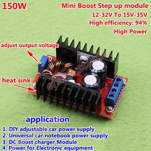 6A DC-DC Boost Step Up Voltage Regler Converter 12v 19v 24v 36v Supply Module