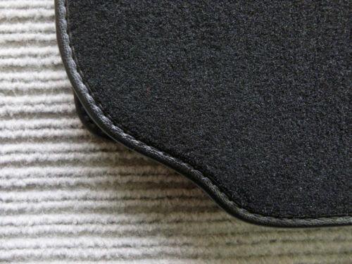 Lengenfelder Fußmatten passend für Porsche 911 993 Rand Kunstleder RUTSCHFEST