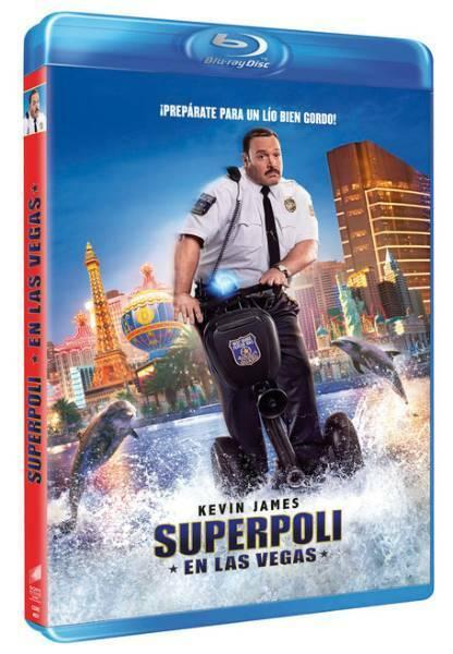 Superpoli en las Vegas Blu-ray