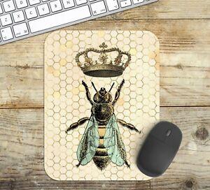 Queen-Bee-Mouse-Pad-Easy-Glide-Non-Slip-Tough-Neoprene