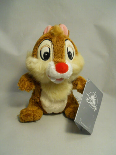 "Dale Plush Chipmunk 6/"" New Disney Chip N/' Dale"