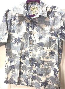 Cooke-Street-Aloha-Hawaiian-SS-Shirt-Cotton-reverse-print-blue-46x29-MEDIUM