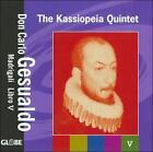 Don Carlo Gesualdo: Madrigali Libro 5 (CD, Mar-2009, Globe (Netherlands))
