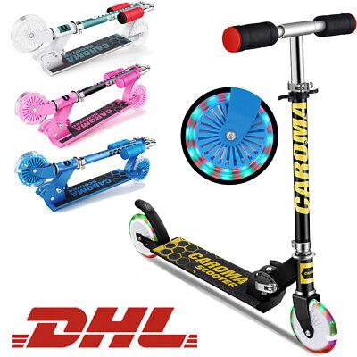 Kinderroller Cityroller Aluminium Scooter Roller Tretroller Kickroller Caroma@