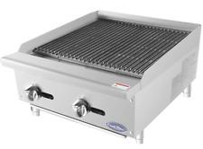 New 24 Radiant Broiler Reversible Cast Iron Grates Nsf Atosa Atrc 24 2540