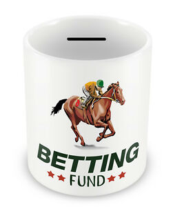 BETTING-FUND-Money-Box-Horse-Racing-Equestrian-Birthday-Gift-Christmas-70