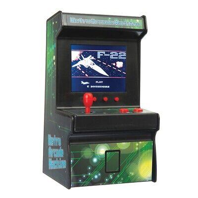 MINI ARCADE MACHINE années 80 bureau rétro 240 Jeux 16 bits Portable Jeux
