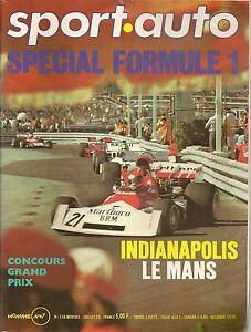 SPORT-AUTO-138-1973-24H-MANS-INDY-500-GP-DE-BELGIQUE-GP-MONACO-DOLOMITE-SPRINT