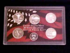 Genuine Silver 2007 US Mint Proof Set of 14 Coins with Box /& COA