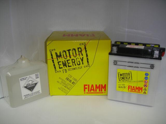 BATTERY FIAMM MOTOR ENERGY FB14L-B2KAWASAKIZ Spectre 7501982-1983