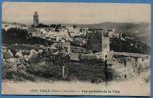 CPA-MAROC-TAZA-Maroc-Oriental-Vue-partielle-de-la-Ville-1920