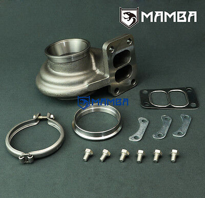 MAMBA V-Band In /& Out .86 Turbine Housing Garrett GT35R GT3582R Ball Bearing