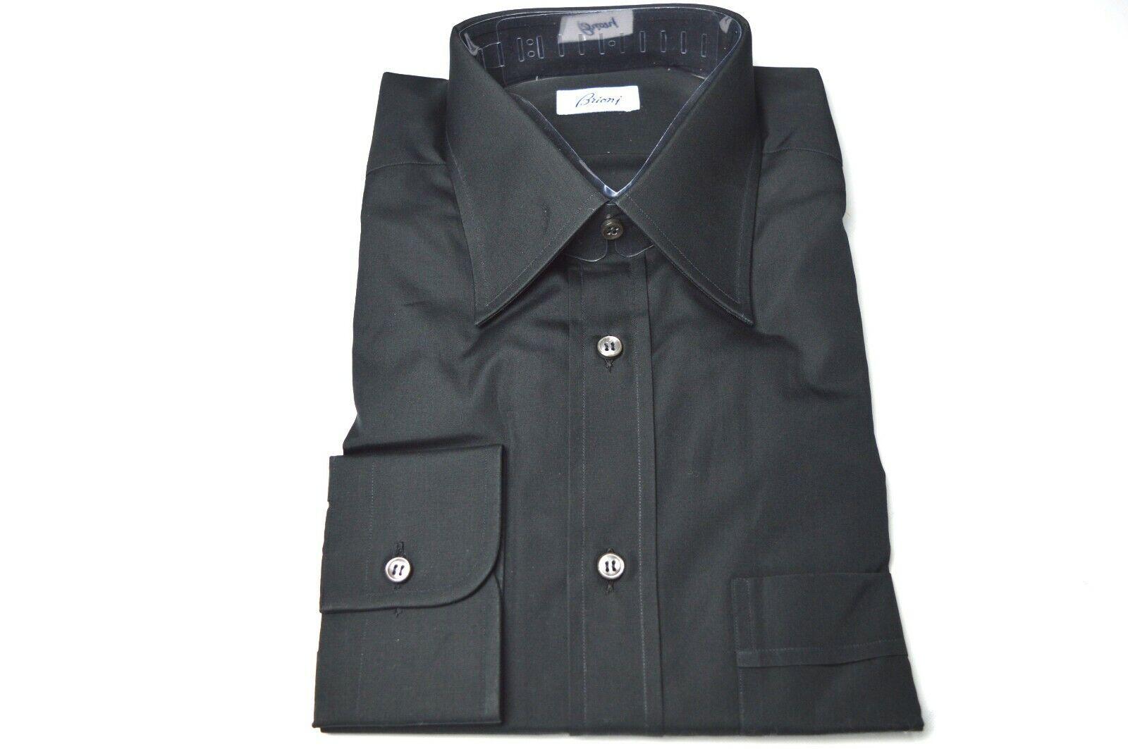NEW  BRIONI Dress  SHIRT 100% Cotton Size 15 Us 39 Eu  (ARA209)