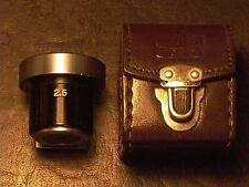 Nippon Kogaku Tokyo Nikon Rangefinder Viewfinder 2.5cm Cased  MINTISH NICE