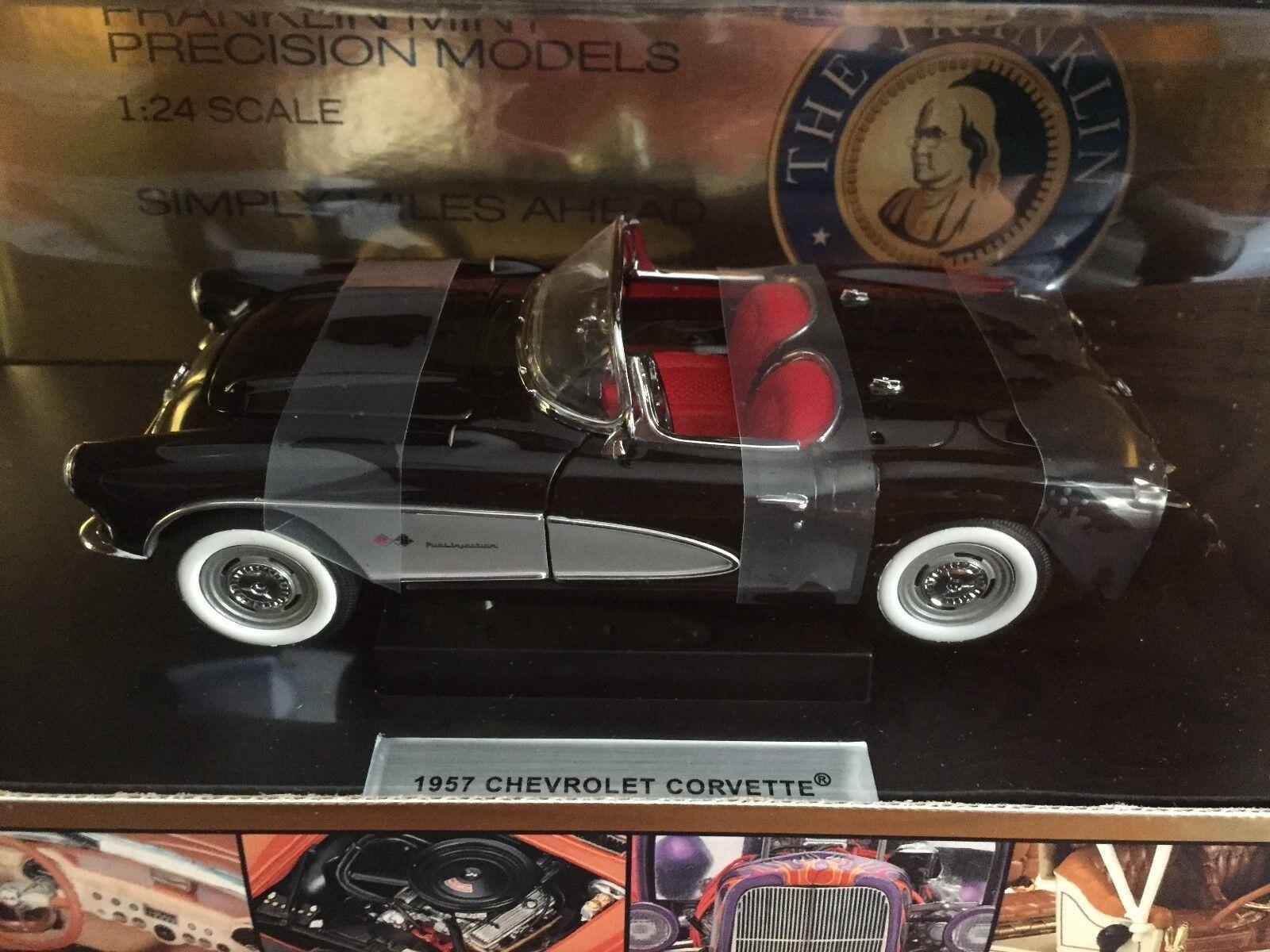 ahorra hasta un 80% 1957 Corvette Roadster-Franklin Mint-Nuevo Caja Caja Caja  para proporcionarle una compra en línea agradable